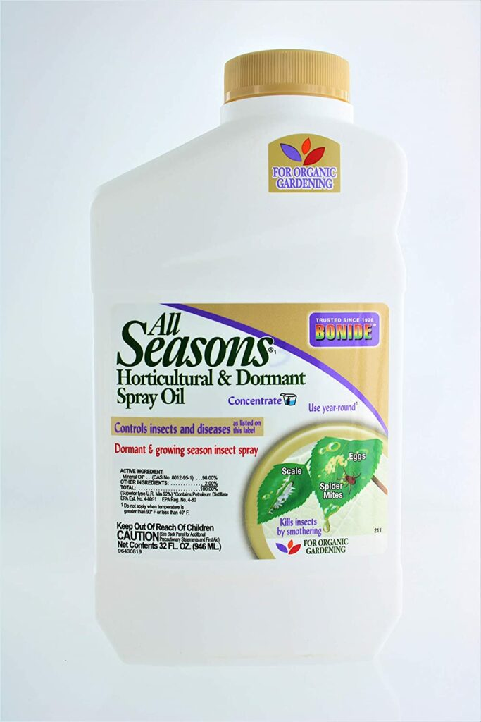 Bonide Concentrate All Seasons Horticultural Spray Oil Review