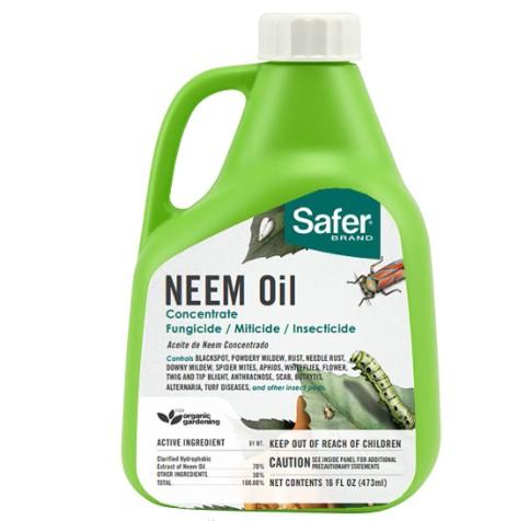 Safer 5182-6 Brand Neem Oil Review