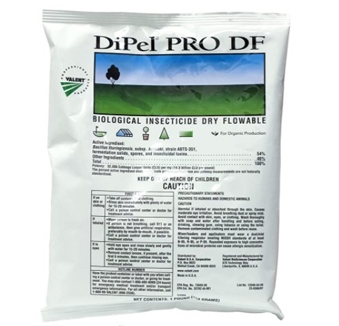 Valent USA Dipel Pro DF Biological insecticide BT 54% Review