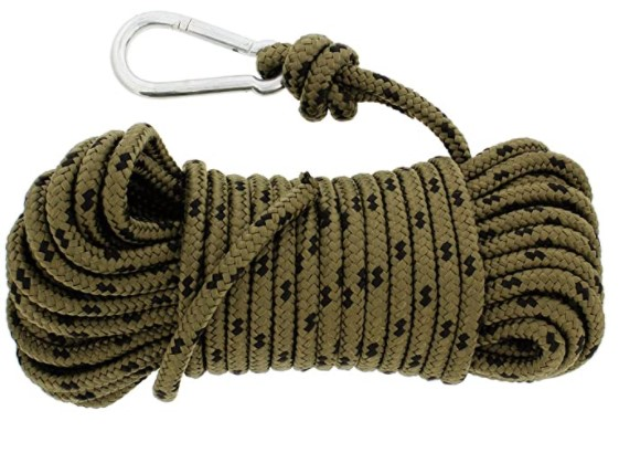 materials for a swing using the rope method
