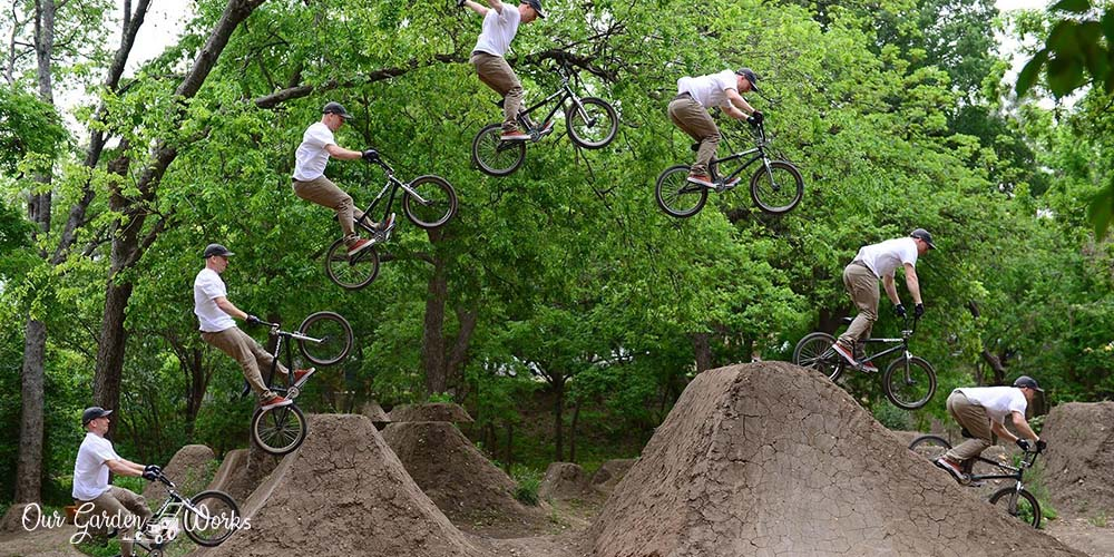 How To Build Dirt Jumps In Your Backyard