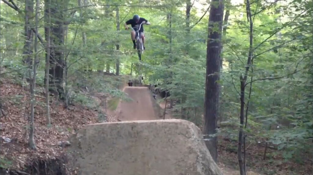 How to Build a Double Dirt Jump