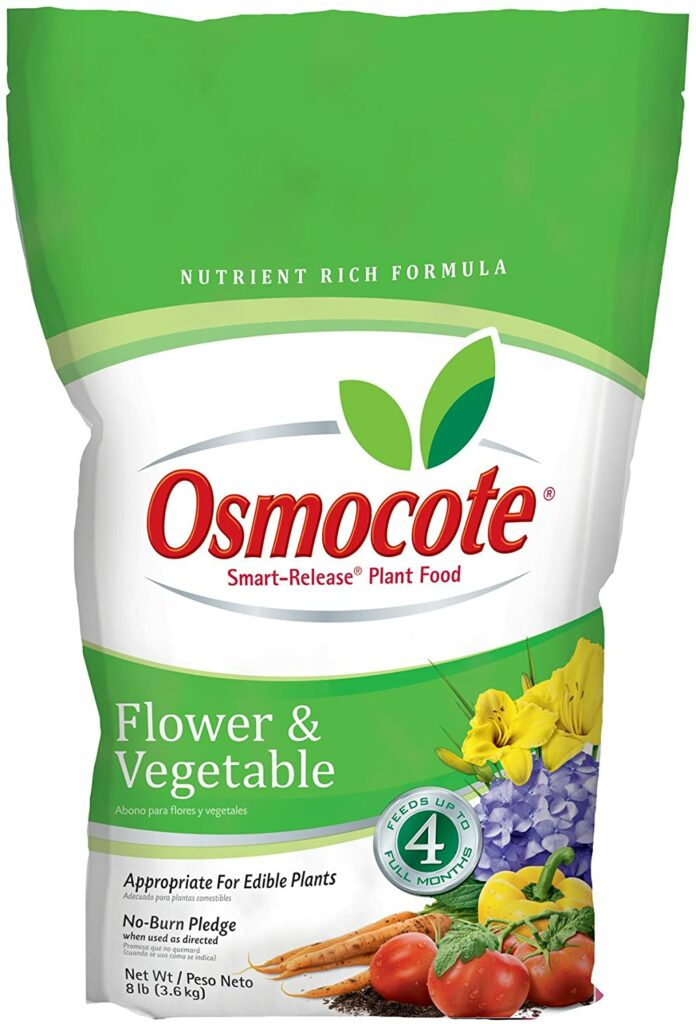 Oscamote Smart-Release Plant Food for knockout roses