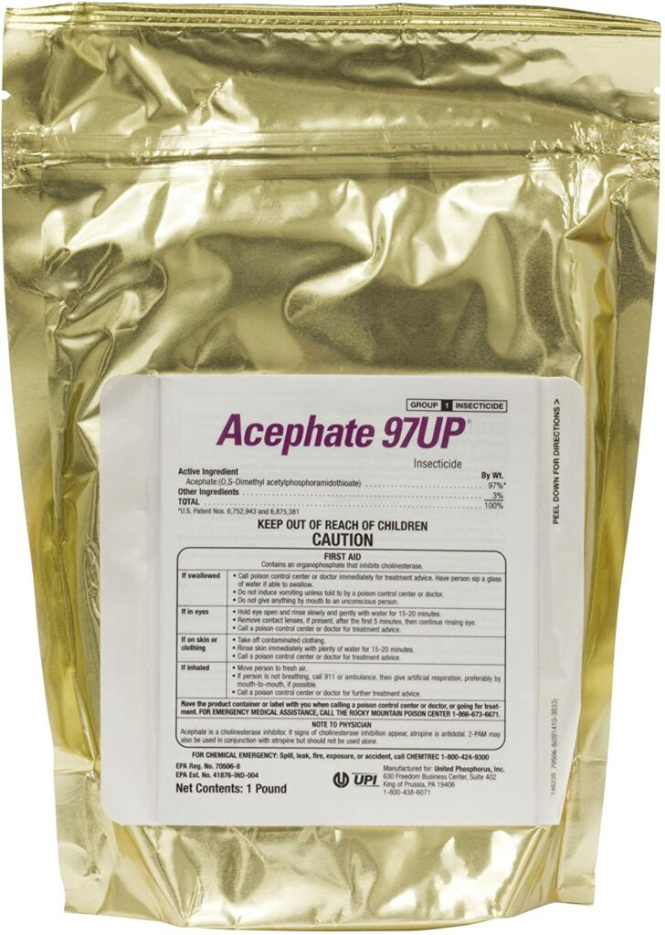 Acephate 97 Up Generic Orthene Insecticide review