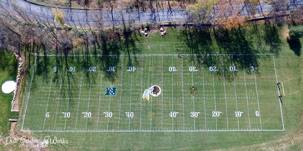 How to build a backyard football field