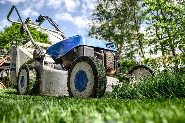 Mow the grass on your football field