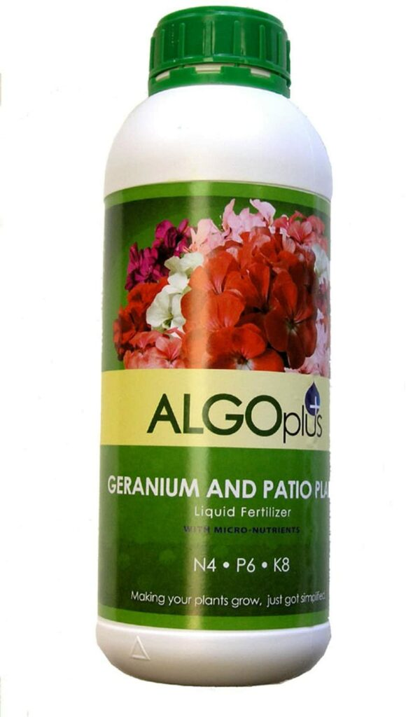 ALGOplus Geranium and Patio Plants Liquid Fertilizer Review