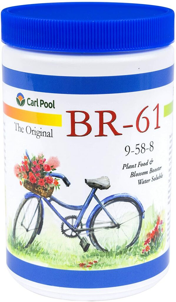 BR-61 Plant Food from Carl Pool Fertilizers Review