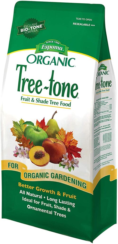 Best fig tree fertilizers - Espoma Tree Tone Fertilizer