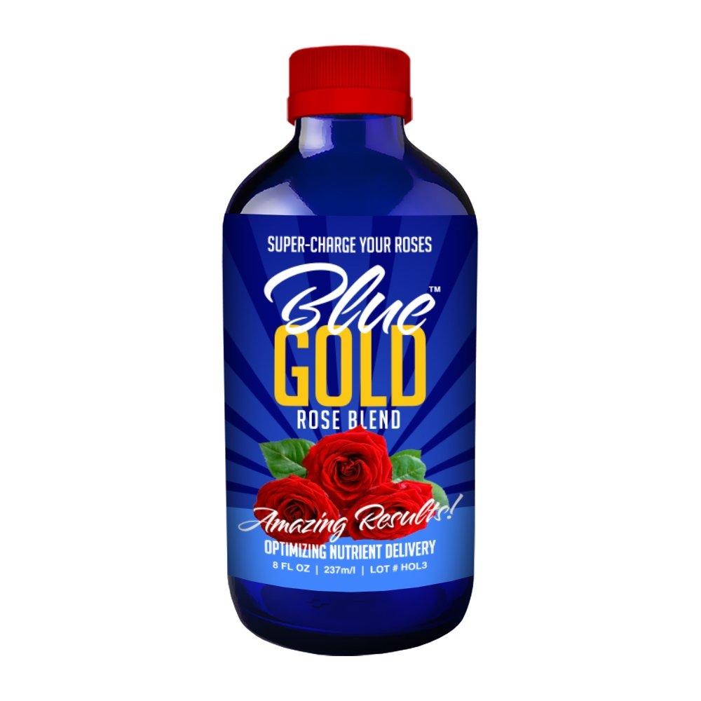 Blue Gold Rose Blend fertilizer for roses