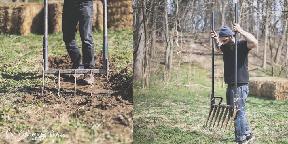 DIY Broadfork - How to Make One From Metal Scraps