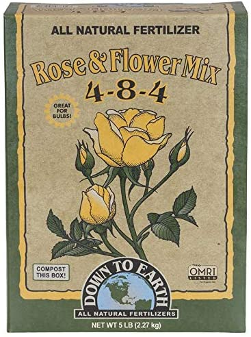 Down to Earth Organic Rose & Flower Fertilizer Review