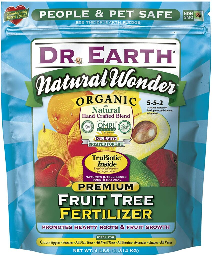 Best fig tree fertilizers - Dr. Earth Organic Fruit Tree Fertilizer
