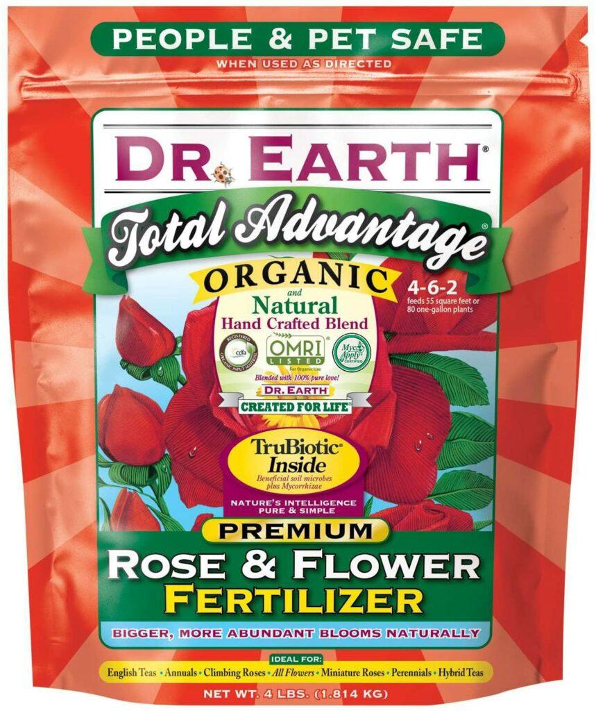 Dr. Earth Total Advantage Rose & Flower Fertilizer Review