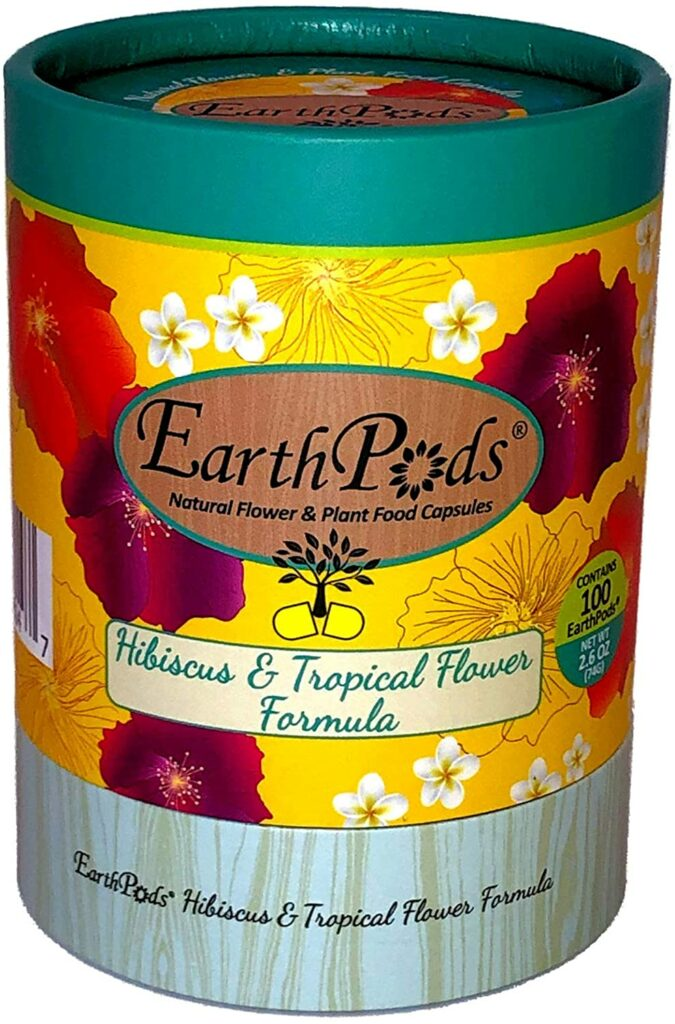 EarthPods Premium Hibiscus & Tropical Flower Plant Food Review