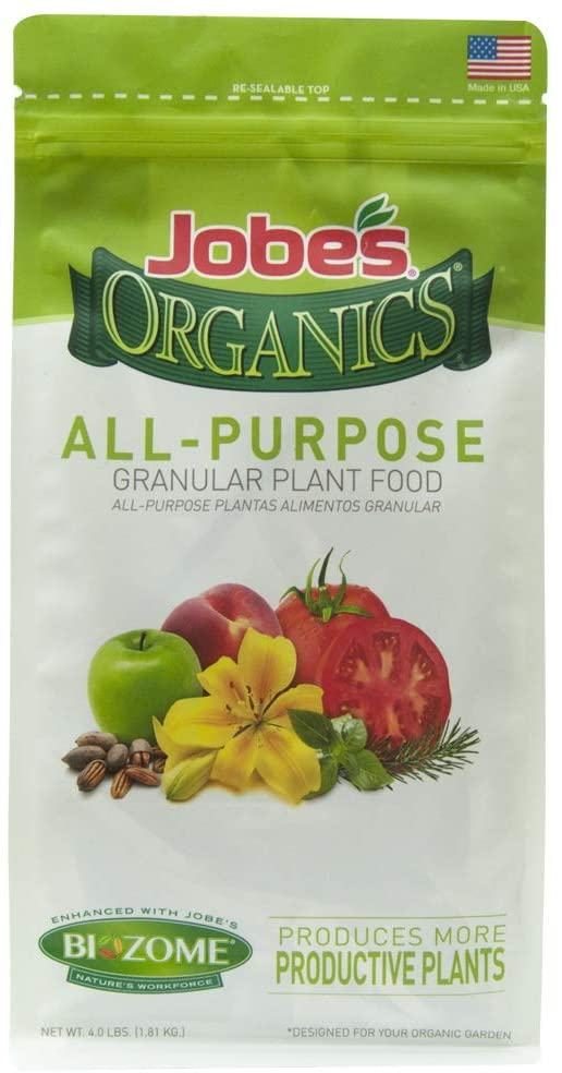 Best fig tree fertilizers - Jobe's Organic All-Purpose Fruit Tree Fertilizer