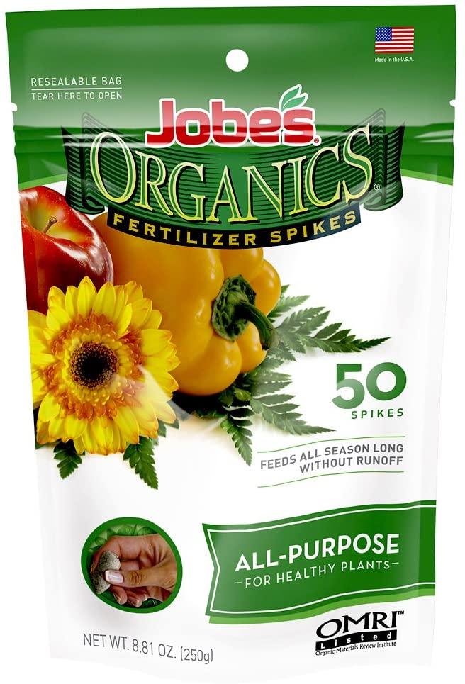 Jobe's Organics All-Purpose Fertilizer Spikes Review