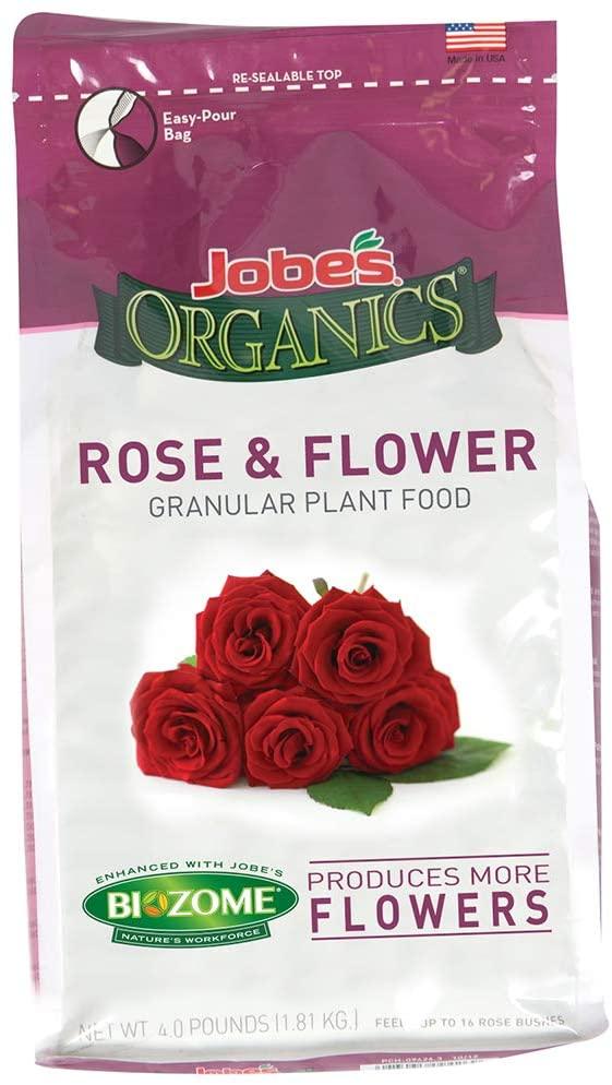 Jobe's Organics Rose & Flower Fertilizer Review