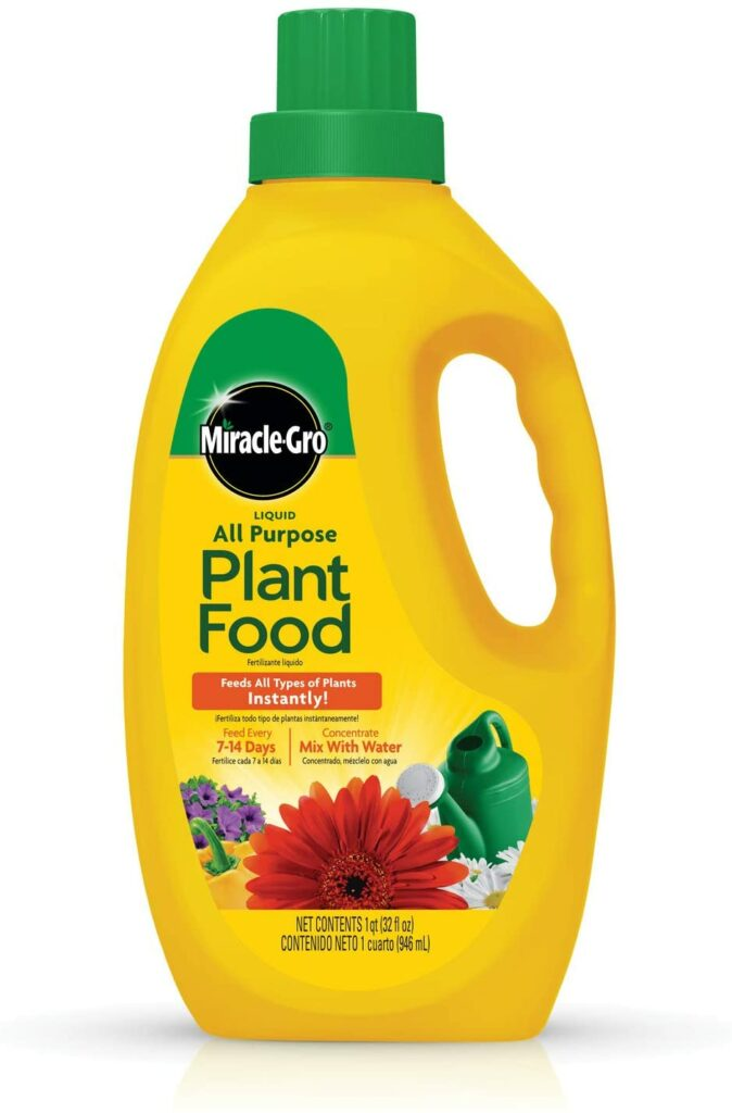 Miracle-Gro Liquid All-Purpose Plant Food Concentrate Review