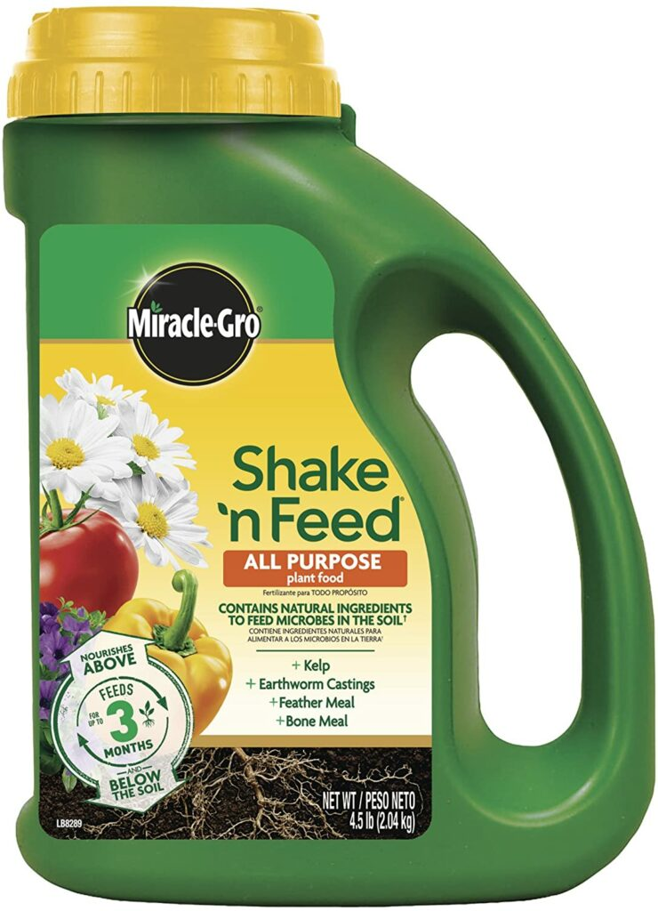 Miracle-Gro Shake 'N Feed All Purpose Plant Food Review