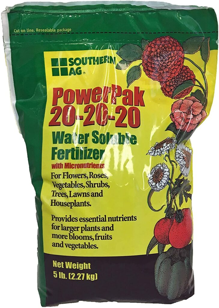 Southern Ag PowerPak Water Soluble Fertilizer Review