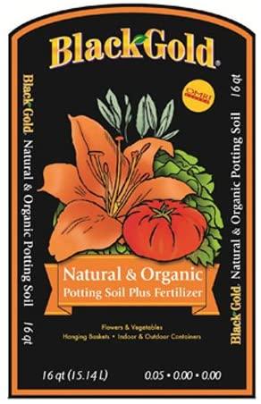 BLACK GOLD® Natural & Organic flower and vegetable soil