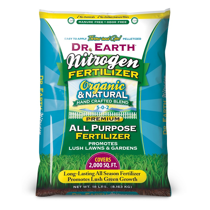 Best fertilizers for arborvitae: Dr. Earth Organic And Natural Nitrogen All-Purpose Fertilizer