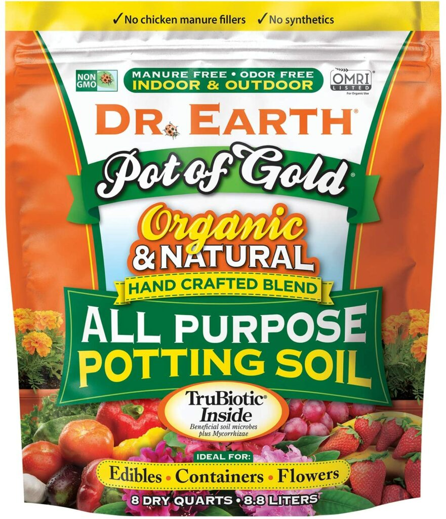 Dr. Earth Pot of Gold All-Purpose Potting Soil