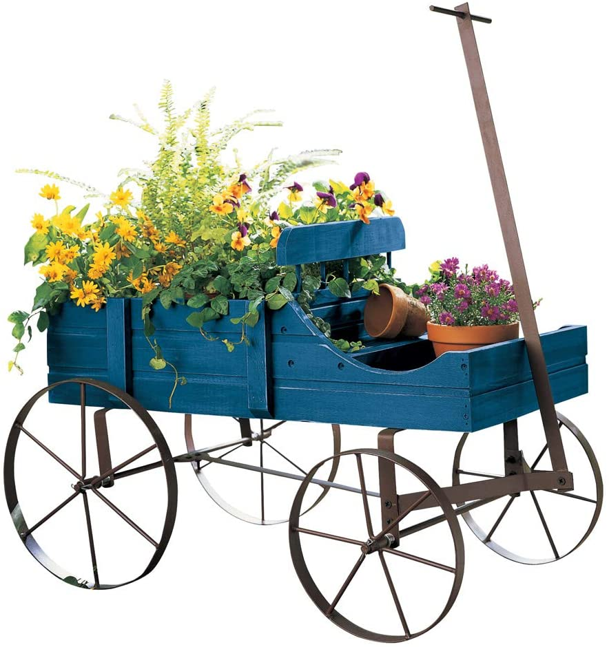 Amish Wagon Decorative Raised Garden Bed Review