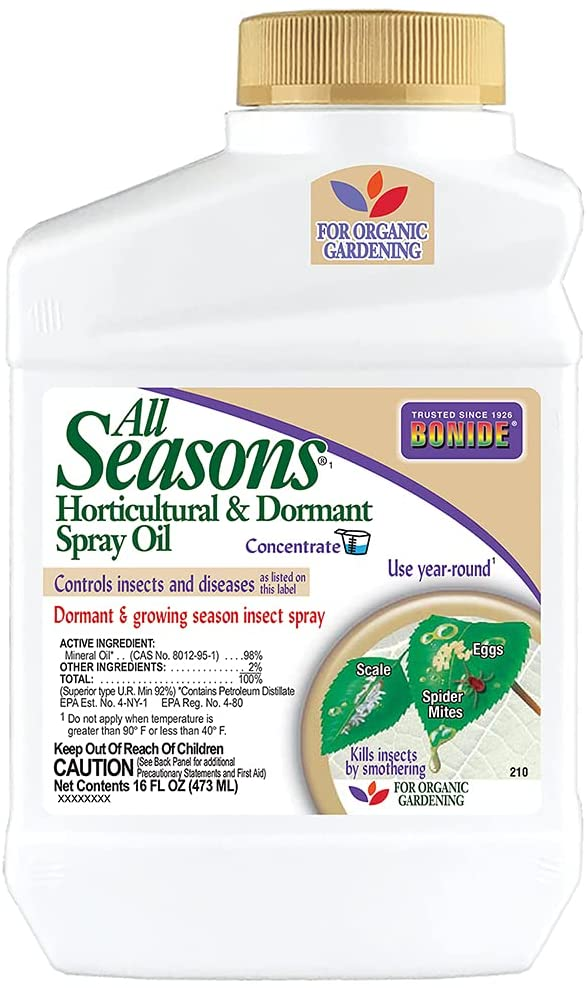 Bonide All Seasons Horticultural and Dormant Spray Oil Review