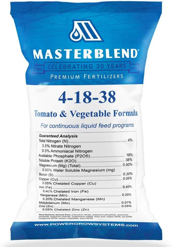 MasterBlend Tomato & Vegetable Fertilizer Review