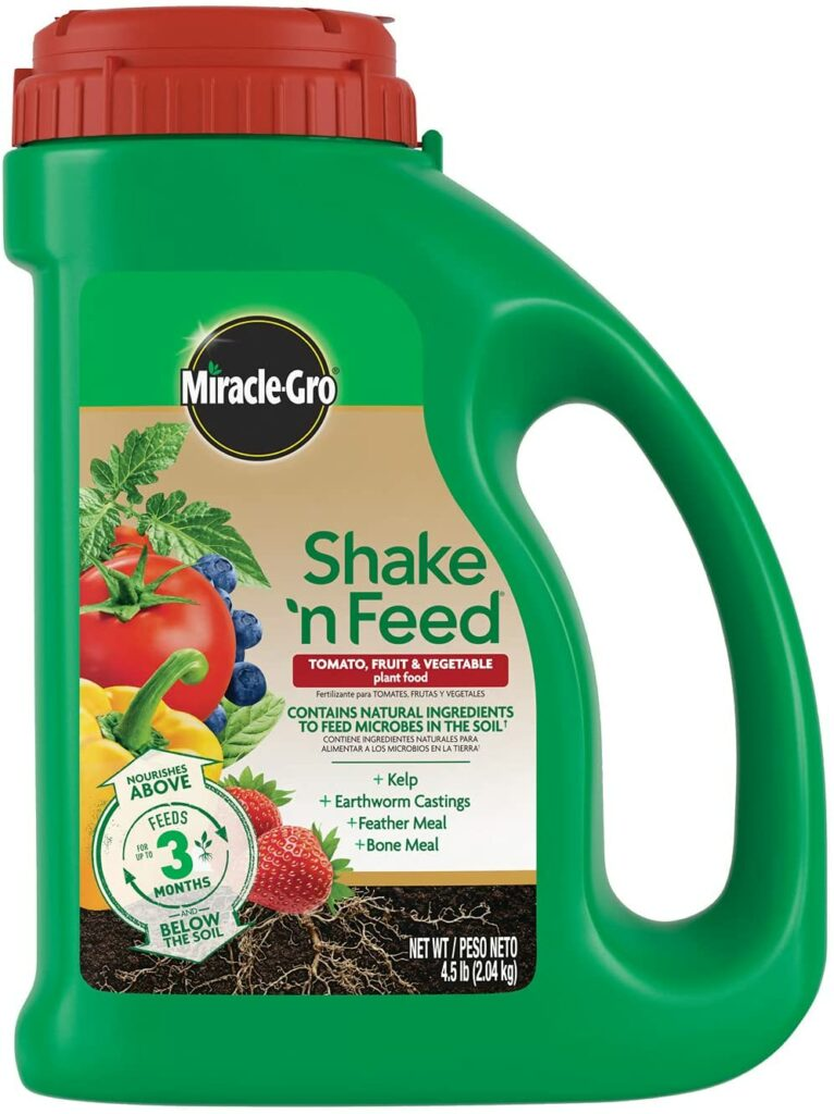 Miracle-Gro Shake 'N Feed Tomato, Fruits and Vegetables Plant Food Review