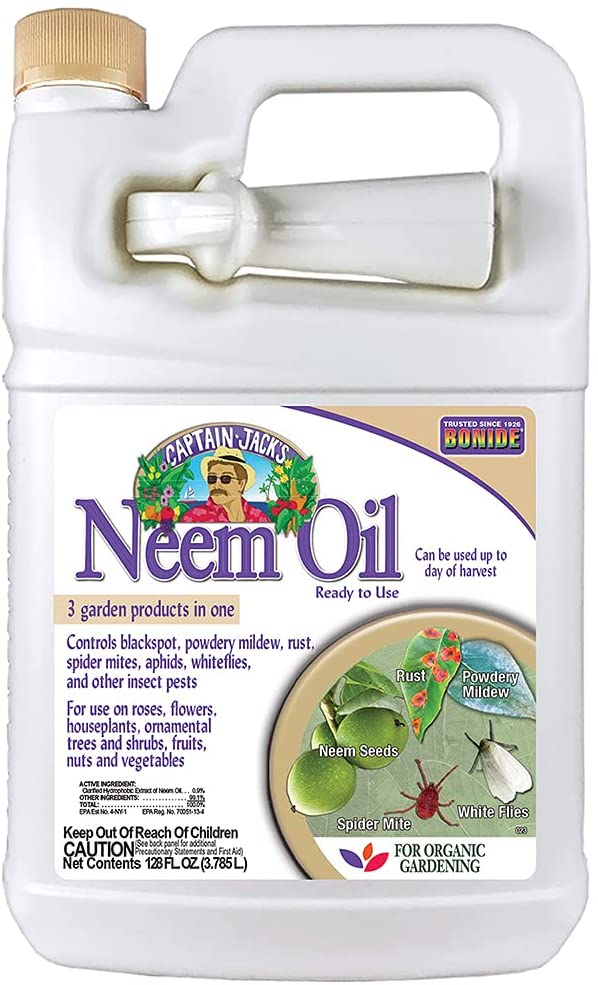 Bonide Neem Oil Fungicide-Miticide-Insecticide Concentrate Review