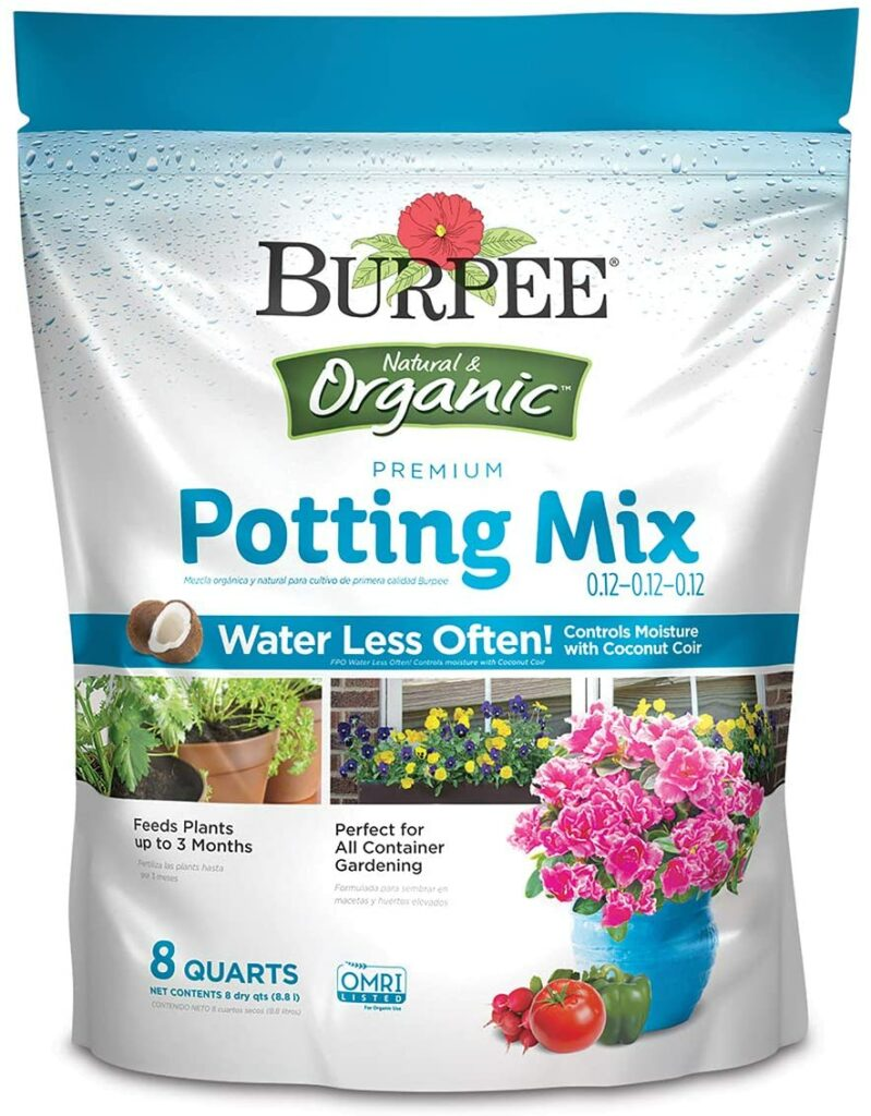 Burpee Organic Premium Potting Mix Review