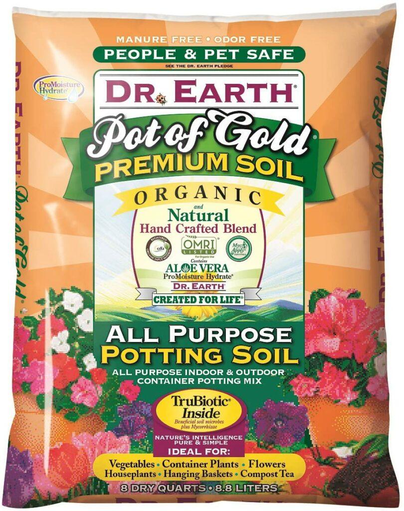 Dr. Earth Gold Premium Potting Soil Review