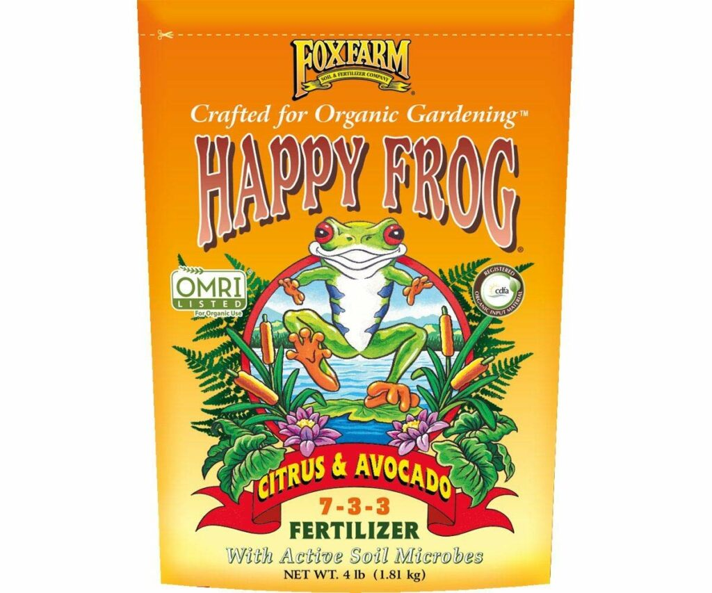 Happy Frog Citrus and Avocado Organic Plant Fertilizer Review
