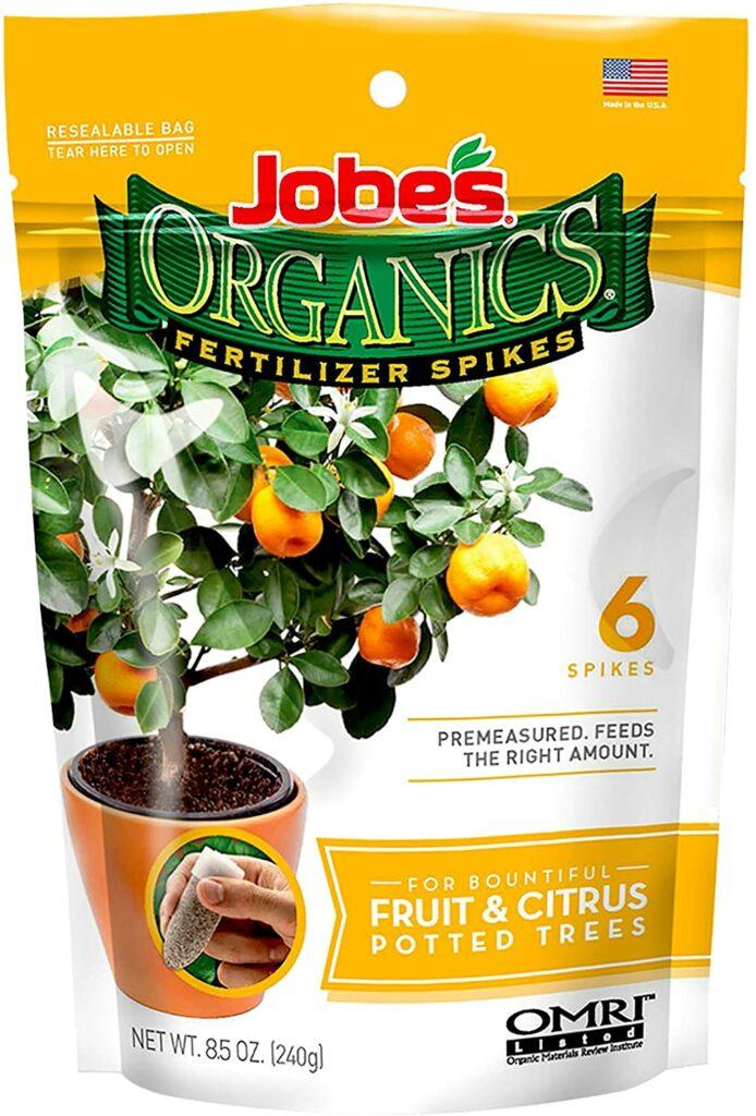 Jobe's Organics Fruit & Citrus Fertilizer Spikes Review