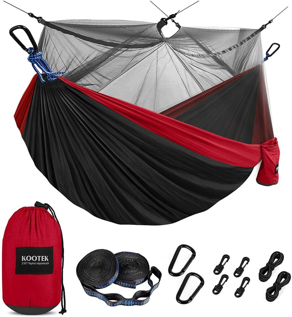 Kootek Camping Hammock With Mosquito Net Review