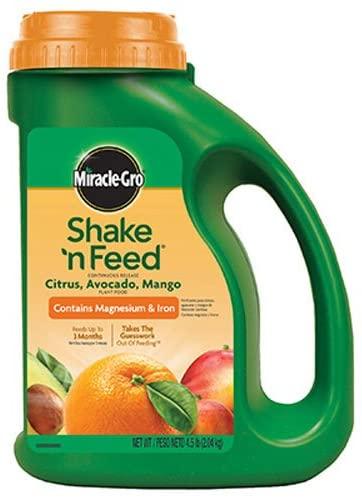 Miracle-Gro Shake 'n Feed® Citrus, Avocado, Mango Plant Food Review