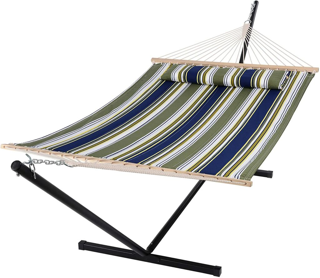 SUNCREAT Double Quilted Hammock Review