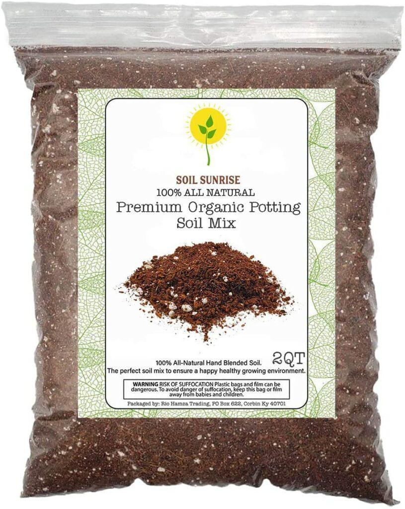 Soil Sunrise Premium Organic Potting Soil Mix Review
