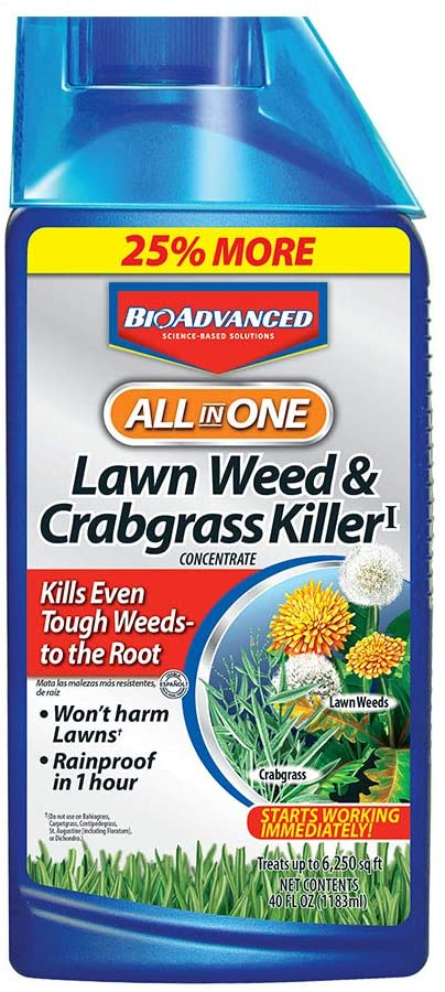 BioAdvanced All-in-One Lawn Weed and Crabgrass Killer Review