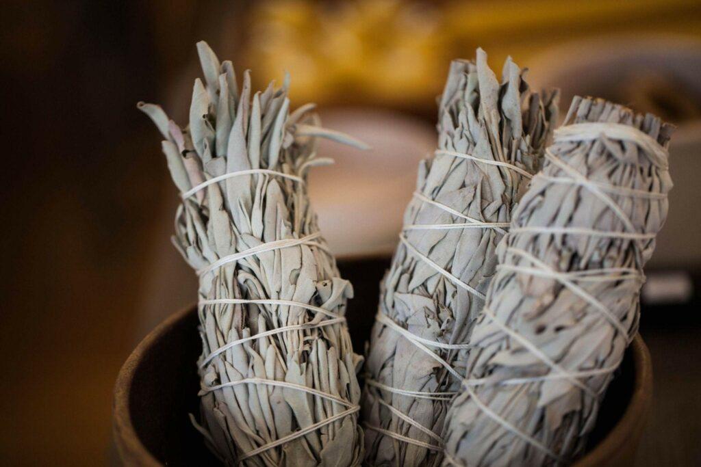 Bundles of White Sage