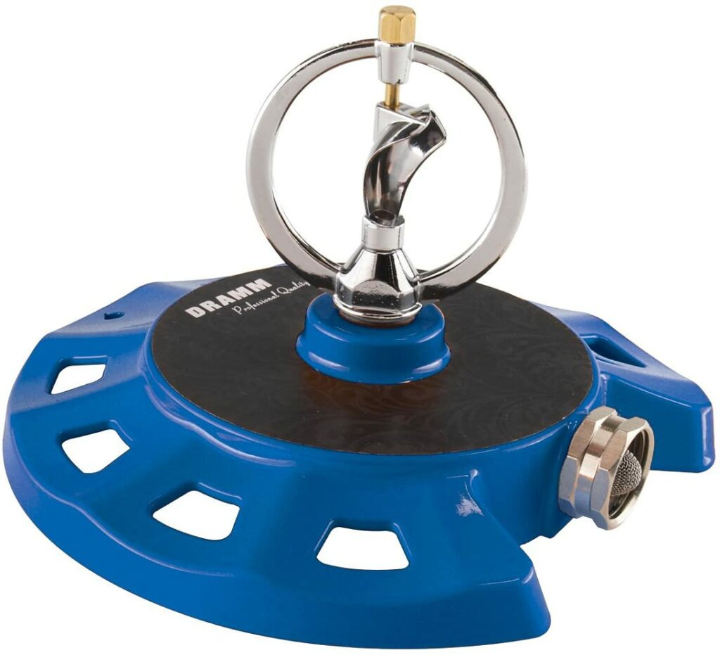 Dramm ColorStorm Spinning Sprinkler Review