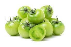 Green tomatoes for long-term storage