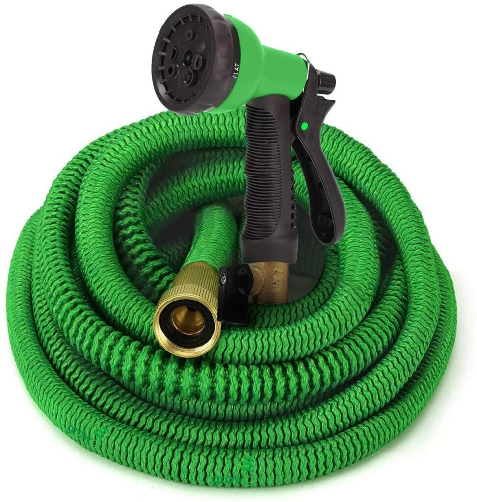 GrowGreen Expandable Garden Hose with High-Pressure Hose Spray Nozzle Review