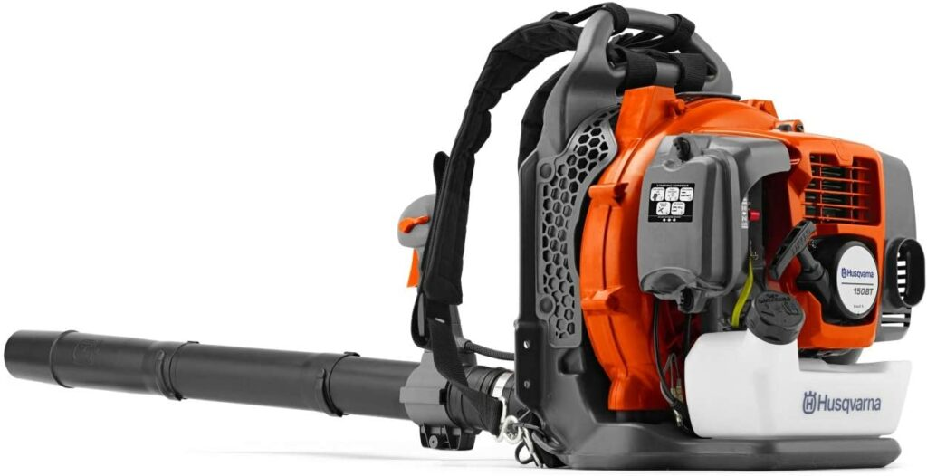 Husqvarna 2-Cycle Gas Backpack Blower Review