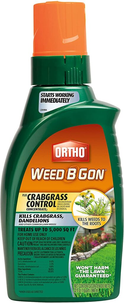 Ortho Weed B Gon Plus Crabgrass Control Concentrate Review