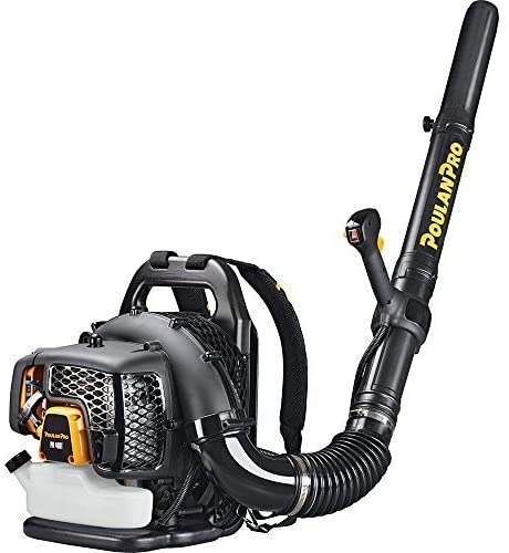 Poulan Pro 2-Cycle Gas Backpack Leaf Blower Review