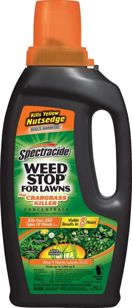 Spectracide Weed Stop For Lawns Plus Crabgrass Killer Concentrate Review